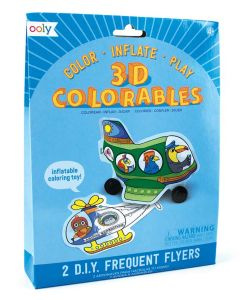 3D Colorables Frequent Flyers