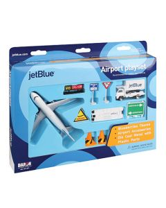 Jet Blue Airlines Airport Playset