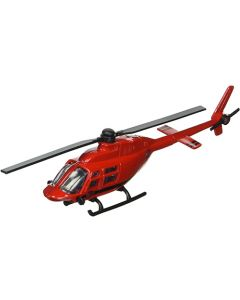 Bell 206 Red Jet Ranger Helicopter
