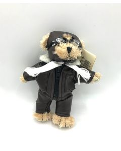 Mini White Pilot Bear