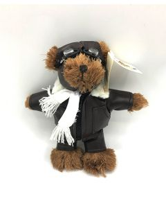Mini Brown Pilot Bear