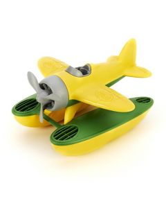 Yellow Seaplane with Grey Propeller Green Toys
