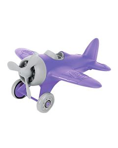 Purple Airplane with Grey Propeller