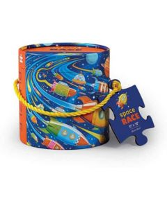 Space Race 24 Piece Canister Puzzle