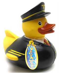 Airline Captain Duck