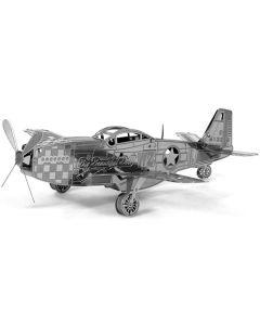 P-51 Mustang Metal Earth Model