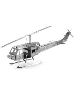 Huey Helicopter Metal Earth Model