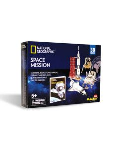 3D National Geographic Space Mission Puzzle