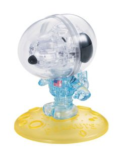 3D Crystal Snoopy Astronaut Puzzle