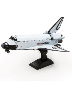 Space Shuttle Discovery Color Metal Earth