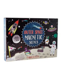 Outer Space Magnetic Scenes