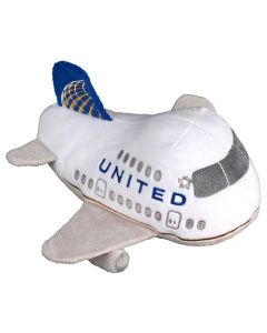 United Airlines Plush Jet with Sound