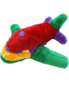Rainbow Plush Jet Plane