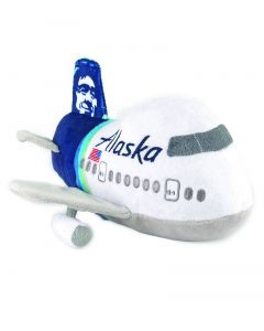 Alaska Airlines Plush Airplane