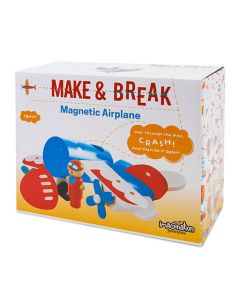 Make & Break Magnetic Airplane