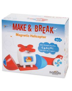 Make & Break Magnetic Helicopter
