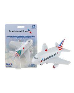 American Airlines Jumbo Airplane Pullback
