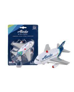 Alaska Airlines Jumbo Airplane Pullback