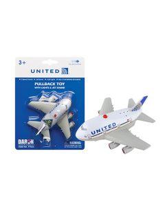 United Air Jumbo Pullback with Lights & Sound