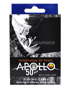 Apollo 50th Anniversary Playing Cards