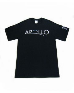 Apollo Exhibit Logo Black tee
