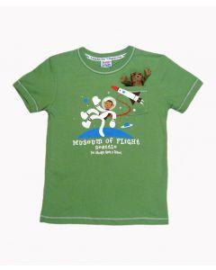 Pocket Monkey in Space Kids Tee
