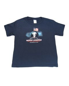 Moon Landing 50th Snoopy Youth Tee