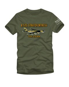 B-52G Stratofortress Military Green Tee