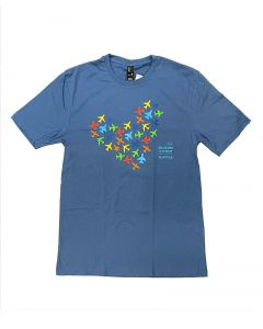 The Museum of Flight Airplane Heart Tee