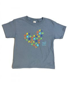 The Museum of Flight Airplane Heart Youth Tee