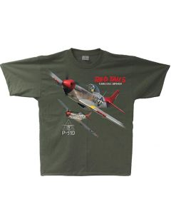 Tuskegee P-51D Red Tails Tee