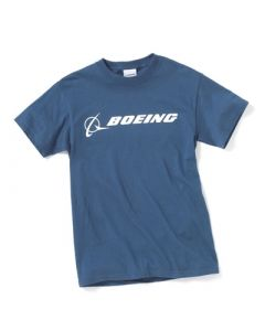Boeing Logo Dusk Blue Tee