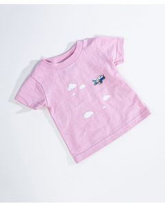 Pink Pudgy Trail Tee