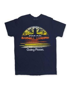 Pan Am Going Places Tee