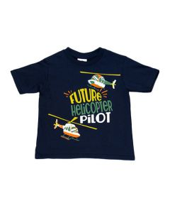 Future Helicopter Pilot Youth Tee