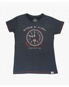 Women's Altimeter Blue Tee