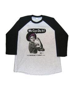 African American Rosie Baseball Tee