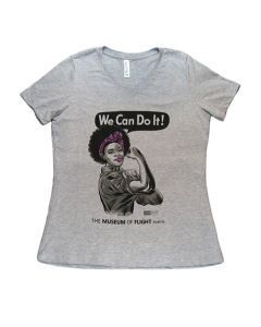 African American Rosie V-Neck Tee