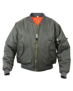 MA-1 Sage Flight Jacket