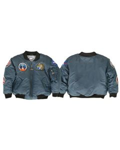 Blue Space Shuttle Youth Jacket